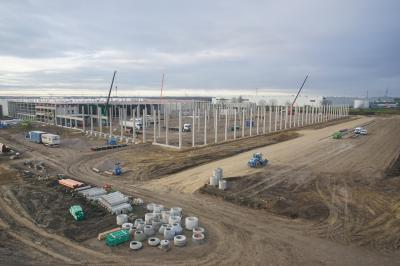 Logistikzentrum, Osterweddingen
